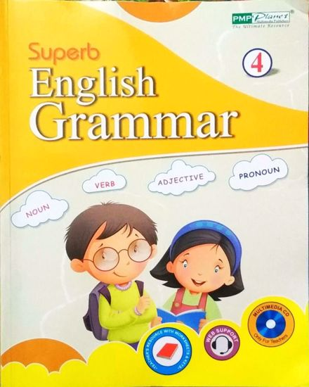 Picture of Superb English Grammer 4 English Text book