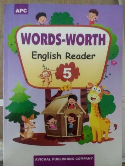 Picture of Word Worth English Reader 5 English Text book