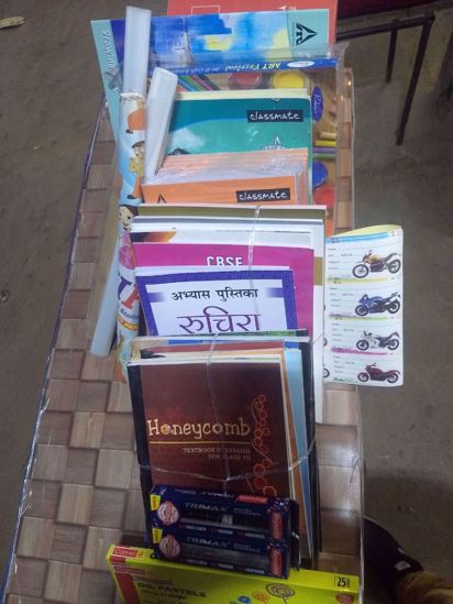 Picture of Army School Complete book set Class 6
