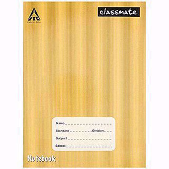 Picture of Classmate Notebook - Single Line Practical notebook,  172 Pages